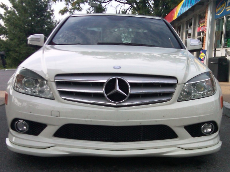 Dct motor sports amg bumper front lip painted 775 and 650 for Mercedes benz cupertino
