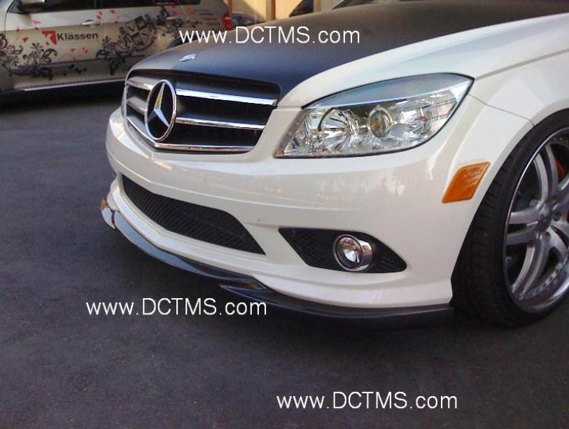 Dct Motor Sport W204 Amg Front Bumper Lip Mbworld Org Forums